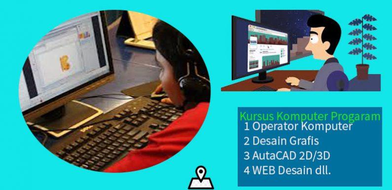 Kursus Komputer dan Pelatihan Kerja |Bersertifikat