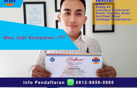 Kursus Komputer|Sertifikat Resmi.Serua ciputat Tangerang.
