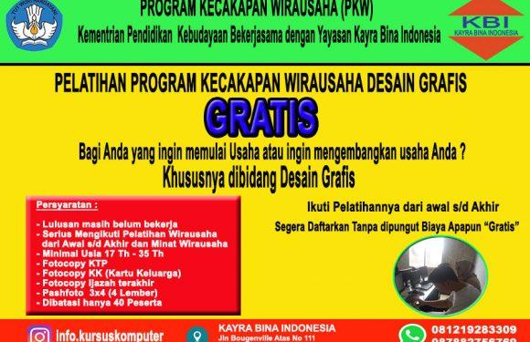 Kursus Komputer gratis dari Kemendikbuud dan Lembaga KBI Ciputat|Bintaro