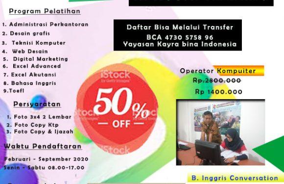 Kursus Komputer dan B. Inggris Terbaik di Tangerang.